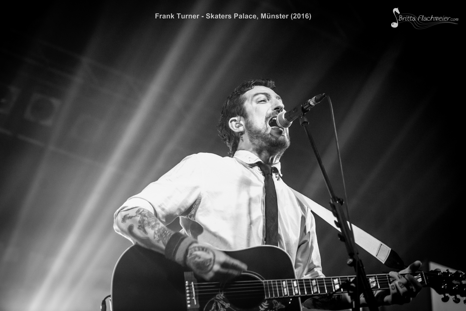 Frank Turner -11.01.2016 - Skaters Palace, Münster